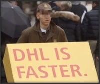 Așa se face un viral – DHL is Faster