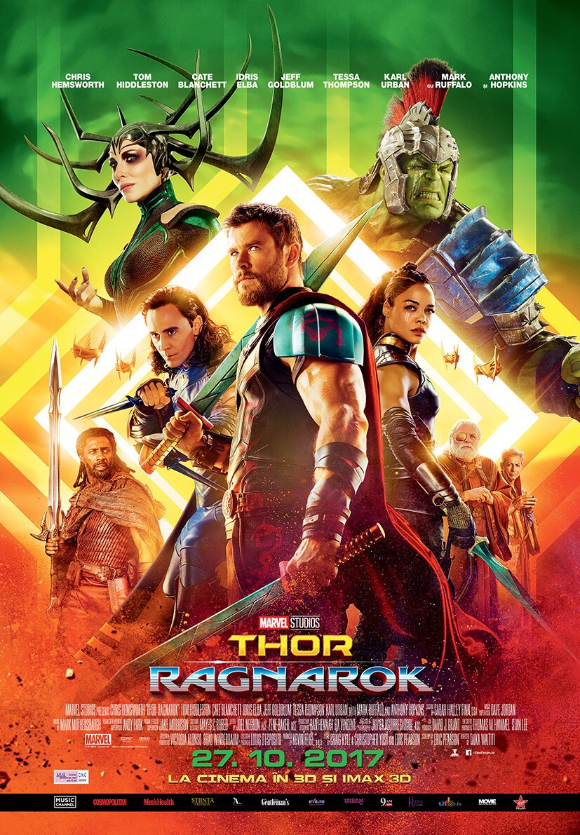 De prin cinema [12]: Thor – Ragnarok